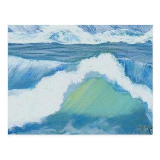 Großartiger Schein - CricketDiane Ozean-Kunst Postkarte