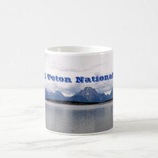Großartiger Teton Nationalpark Kaffeetasse