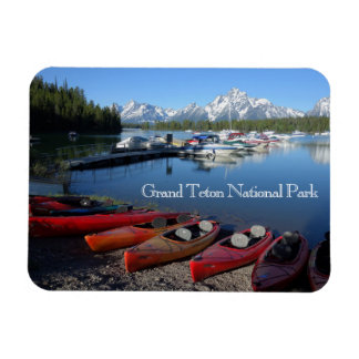Großartiger Teton Nationalpark-Magnet Magnet