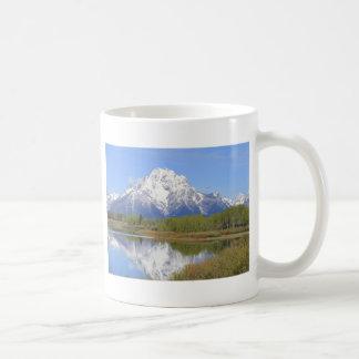 Großartiger Teton Nationalpark Mt. Moran Kaffeetasse
