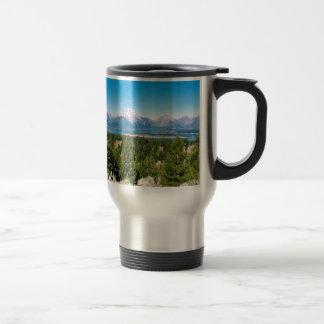 Großartiger Teton Nationalpark Wyoming Reisebecher