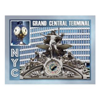 Großartiger zentraler Anschluss, NYC Postkarte