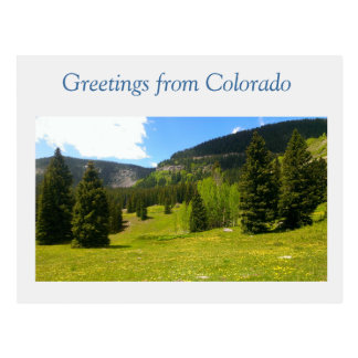 Großartiges Colorado Postkarte