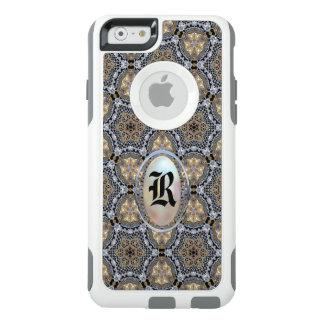 Großartiges Debonshire hübsches Girly Monogramm OtterBox iPhone 6/6s Hülle