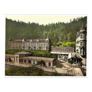 Großartiges Hotel Pupp, Karlsbad, Böhmen, Postkarte
