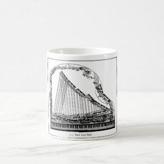 Großartiges Klavier-Tasse Verwandlungstasse