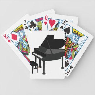 Großartiges Klavier-Zeichnen Bicycle Spielkarten