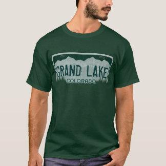 Großartiges See-Colorado-Typlizenzplattent-stück T-Shirt