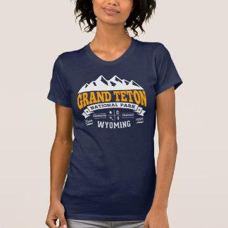 Großartiges Teton Vintages Gold T-Shirt
