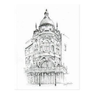 Großartiges Theater Blackpools Postkarte