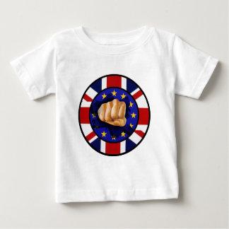 Großbritannien Anti-EU-Faust Baby T-shirt