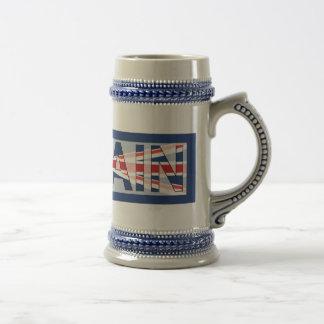 Großbritannien Bierglas