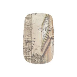Großbritannien England London clocktower Big Ben Minx Nagelkunst