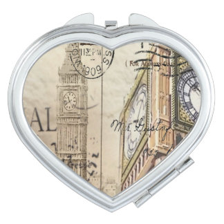 Großbritannien England London clocktower Big Ben Schminkspiegel