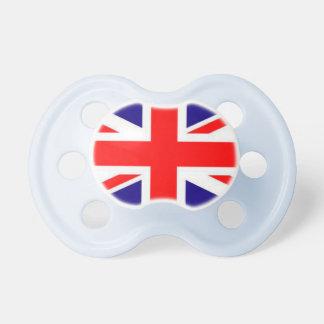 Großbritannien-Flaggen-Baby-Schnuller
