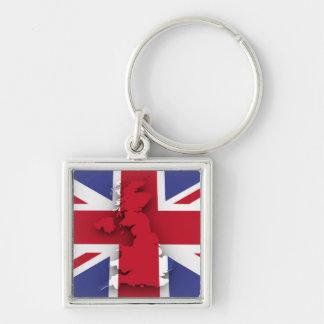 Großbritannien-Land Schlüsselanhänger