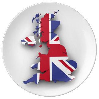 Großbritannien-Land Teller