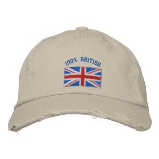 Großbritannien stickte Hut