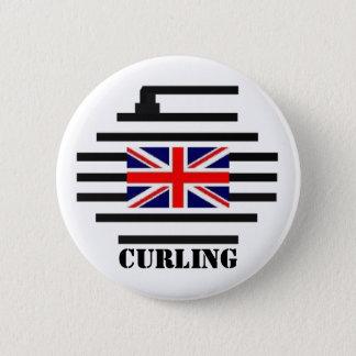 Großbritannien-Winden Runder Button 5,1 Cm