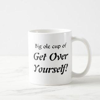 Große alte Schale von, erhalten OverYourself! Kaffeetasse