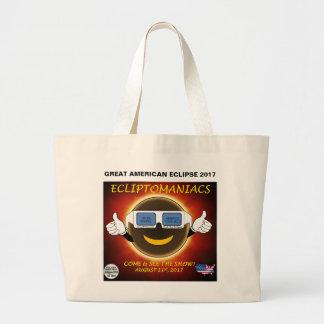 Große amerikanische Eklipse-Tasche Jumbo Stoffbeutel