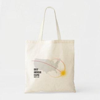 Große amerikanische Solareklipse-Taschen-Tasche Tragetasche