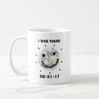 Große amerikanische Sonnenfinsternis war ich dort Kaffeetasse