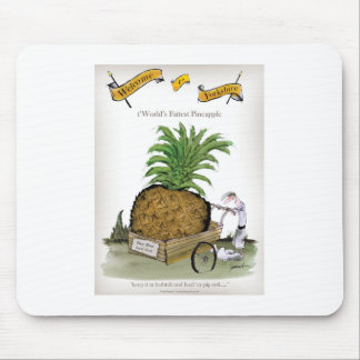 Große Ananas Liebe-Yorkshires Mousepad