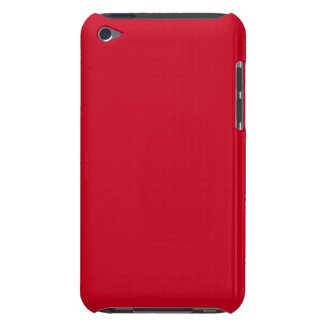 Große Apple glühende Rot-Im Norden Barely There iPod Cover