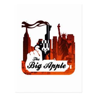 Große Apple Postkarte