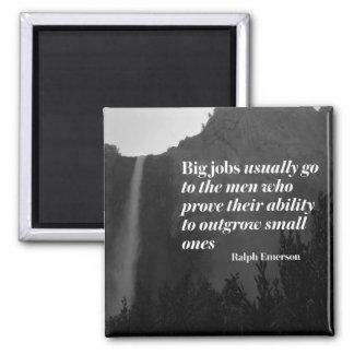 Große Aufträge durch Ralph Emerson Quadratischer Magnet