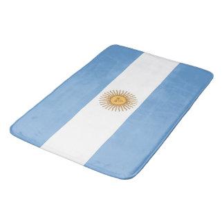 Große Badmatte mit Flagge von Argentinien Badematte