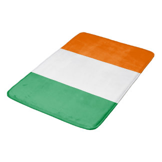 Große Badmatte mit Flagge von Irland Badematte