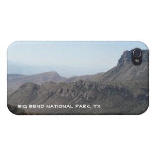 Große Biegung nationale Park-Bergansicht iPhone 4/4S Cover
