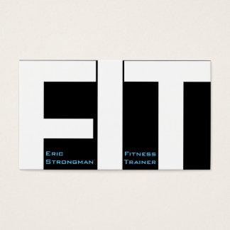 Große Buchstaben PASSTEN moderne Abdeckung des Visitenkarte
