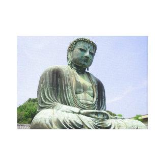 Große Buddha-Statue Leinwanddruck