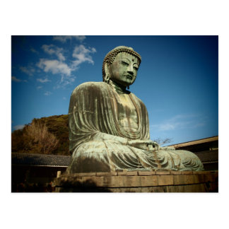 Große Buddha-Statue-Postkarte Postkarte