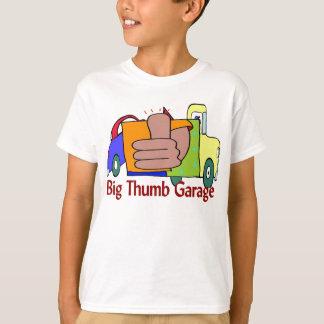 Große Daumen-Garage, Mechaniker-Geschäft T-Shirt
