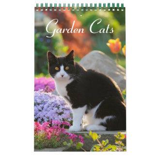 Größe der Garten-Katzen 2017 klein Wandkalender