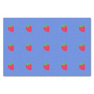Große Erdbeeren Seidenpapier