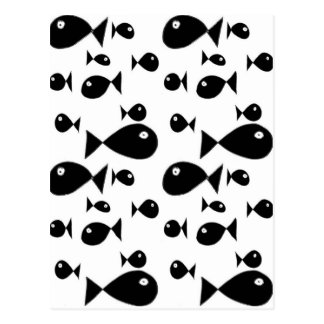 Große Fische Postkarte