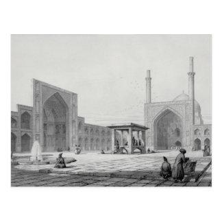 Große Freitag-Moschee (Masjid-i Djum-ah) in Postkarte