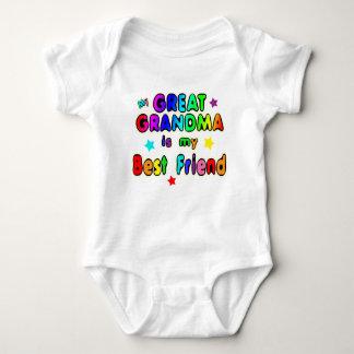 Große Großmutter-bester Freund Baby Strampler