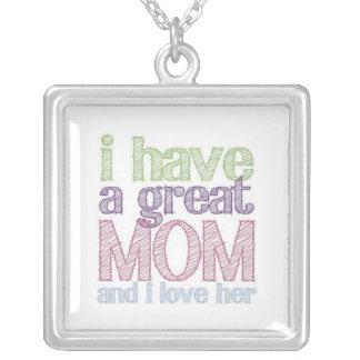 Große Halskette der Mamma-Mutter Tages