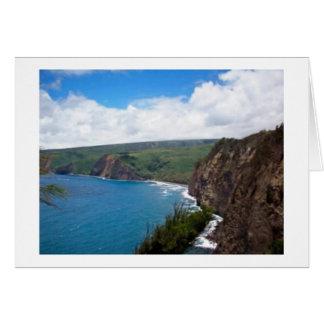 Große Insel-Schönheit Karte