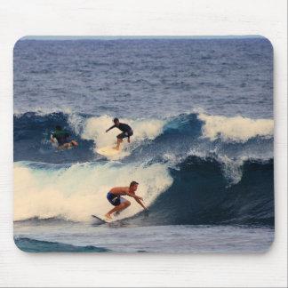 Große Insel von Hawaii-Surfern Mauspads