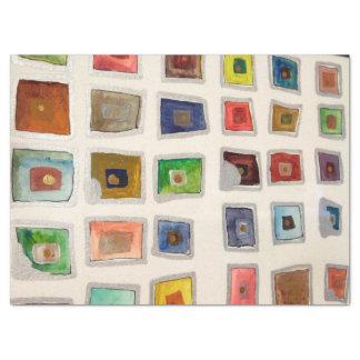 Große Kastengewebegeschenk Verpackung oder Seidenpapier