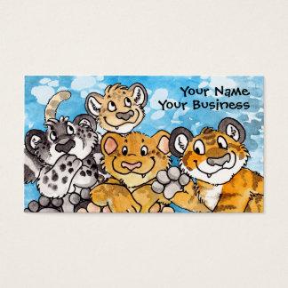Große Katzen-CUB-Visitenkarte Visitenkarten