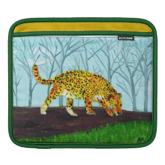 Große Katzen-Kunst Jaguar iPad Sleeve