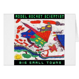 Große Kleinstädte vorbildlichen Rakete Karte